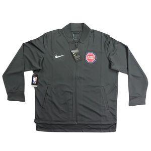New Nike Detroit Pistons Team Issued Bomber Jacket